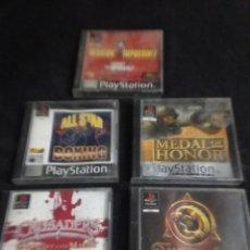 Videojuegos y Consolas: LOTE DE JUEGOS PLAY 1. Lote 153869282