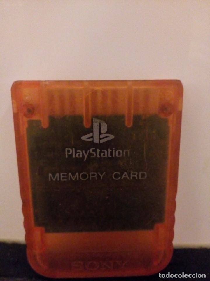 TARJETA DE MEMORIA CARD PLAY STATION (Juguetes - Videojuegos y Consolas - Sony - PS1)