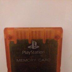 Videojuegos y Consolas: TARJETA DE MEMORIA CARD PLAY STATION. Lote 154032418