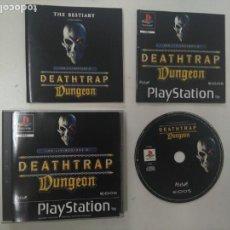 Videojuegos y Consolas: DEATHTRAP DUNGEON PARA PS1 PS2 Y PS3!!!!. Lote 154125930