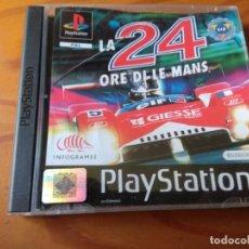 Videojuegos y Consolas: LA 24 ORE DI LE MANS - VIDEOJUEGO PSX PLAYSTATION 1 PS1 PAL - HORAS DE LEMANS. Lote 154285422