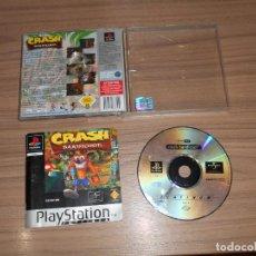 Videojuegos y Consolas: CRASH BANDICOOT JUEGO PLAYSTATION PAL ESPAÑA CASTELLANO. Lote 154628906