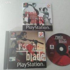 Videojuegos y Consolas: RONIN BLADE PARA PS1 PS2 Y PS3!!!!. Lote 155290054