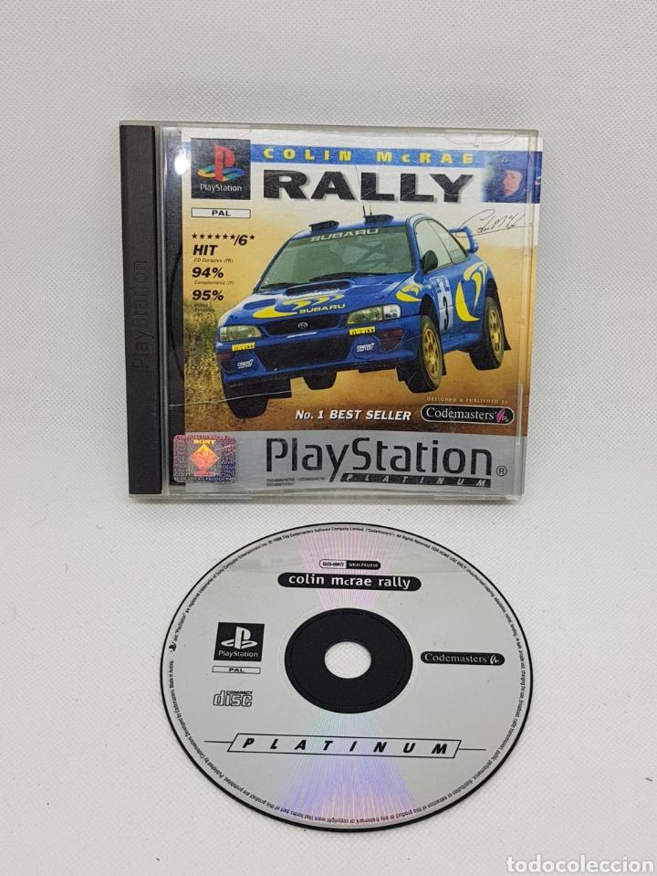 RALLY - COLIN MCRAE - PLAYSTATION 1 - CAR09 (Juguetes - Videojuegos y Consolas - Sony - PS1)