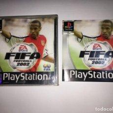 Videojuegos y Consolas: JUEGO FIFA FOOTBALL 2002 DE PLAYSTATION 1 PS1. Lote 155662638