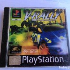 Videojuegos y Consolas: JUEGO V-RALLY DE PLAYSTATION 1 PS1. Lote 155665082