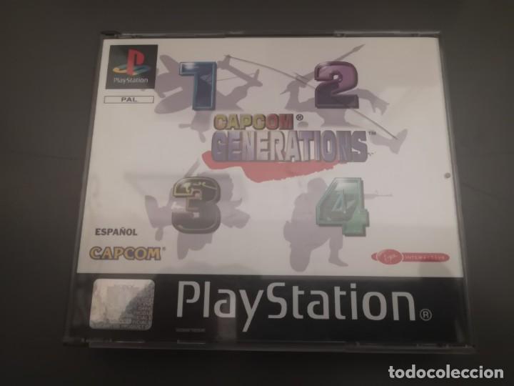 Videojuegos y Consolas: Capcom generations playstation psx play 1 - Foto 2 - 155824102
