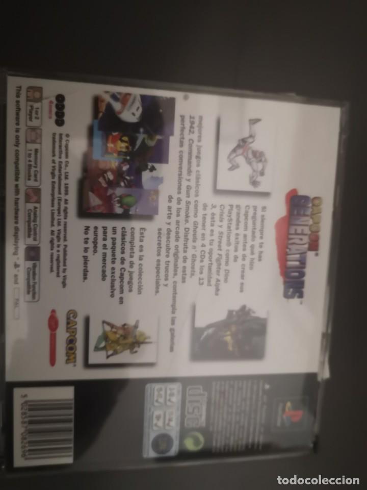 Videojuegos y Consolas: Capcom generations playstation psx play 1 - Foto 3 - 155824102