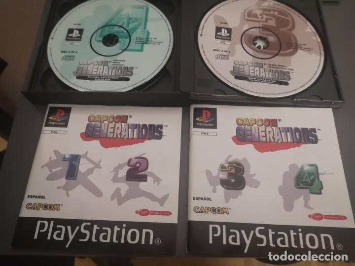 Videojuegos y Consolas: Capcom generations playstation psx play 1 - Foto 4 - 155824102