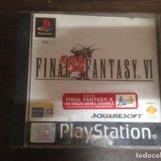 Videojuegos y Consolas: JUEGO PLAYSTATION PS1 FINAL FANTASY VI. Lote 156254838