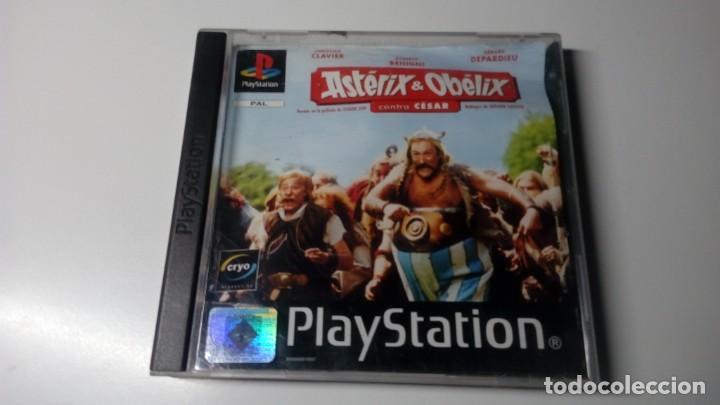 JUEGOS ASTERIX Y OBELIX CONTR.CESAR PLAY STATION ONE 1 PS1 NO PS2 PS3 PS4 FUNCIONANDO CORRECTAMENTE. (Juguetes - Videojuegos y Consolas - Sony - PS1)