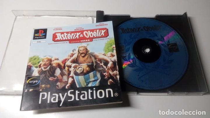 Videojuegos y Consolas: JUEGOS ASTERIX Y OBELIX CONTR.CESAR PLAY STATION ONE 1 PS1 NO PS2 PS3 PS4 FUNCIONANDO CORRECTAMENTE. - Foto 2 - 156447822