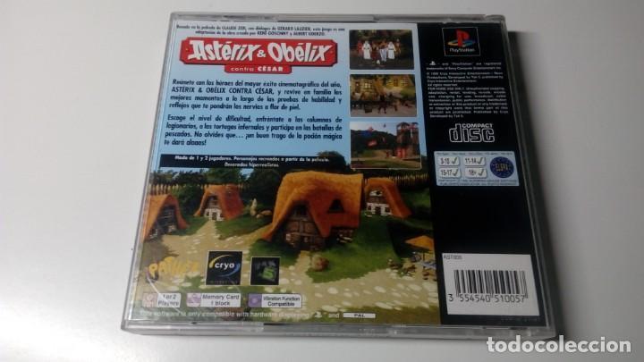 Videojuegos y Consolas: JUEGOS ASTERIX Y OBELIX CONTR.CESAR PLAY STATION ONE 1 PS1 NO PS2 PS3 PS4 FUNCIONANDO CORRECTAMENTE. - Foto 4 - 156447822