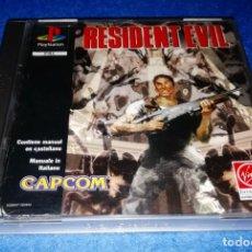 Videojuegos y Consolas: RESIDENT EVIL 1 PLAYSTATION 1 PS1 CAPCOM 1996--- PEDIDO MÍNIMO 10€ --- BOX31. Lote 156512578