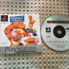Videojuegos y Consolas: TEIGETJES HONINGJACHT PSX PLAYSTATION 1 PLAY STATION PLATINUM PS1 PS ONE KREATEN. Lote 156537102