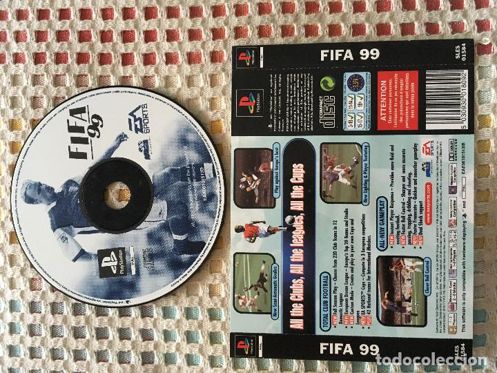 FIFA 99 EA SPORTS ALEMAN PSX PLAYSTATION 1 PLAY STATION PS1 PS ONE KREATEN (Juguetes - Videojuegos y Consolas - Sony - PS1)
