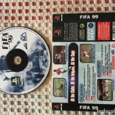 Videojuegos y Consolas: FIFA 99 EA SPORTS ALEMAN PSX PLAYSTATION 1 PLAY STATION PS1 PS ONE KREATEN. Lote 156538770