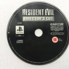 Videojuegos y Consolas: RESIDENT EVIL DIRECTOR'S CUT DIRECTORS CUTS CAPCOM PSX PS ONE PLAYSTATION 1 PLAY STATION KREATEN. Lote 156647834