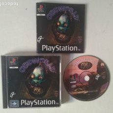 Videojuegos y Consolas: ODDWORLD PARA PS1 PS2 Y PS3!!!! COMO NUEVO!!!. Lote 156695918