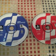 Videojuegos y Consolas: GRAN TURISMO 2 GT MODE CD Y ARCADE MODE DISC PAL KREATEN PSX PS1 PS ONE PLAYSTATION 1 PLAY STATION. Lote 156765070