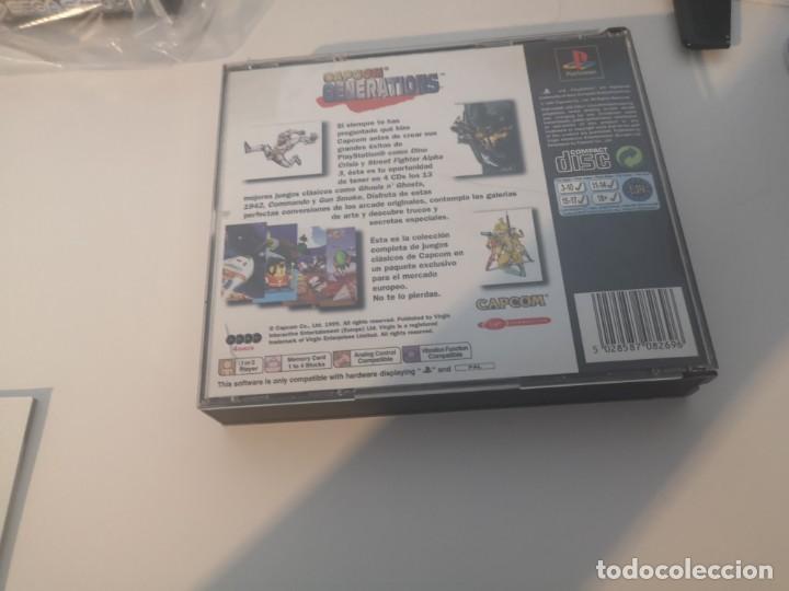 Videojuegos y Consolas: Capcom generations playstation psx play 1 - Foto 6 - 155824102