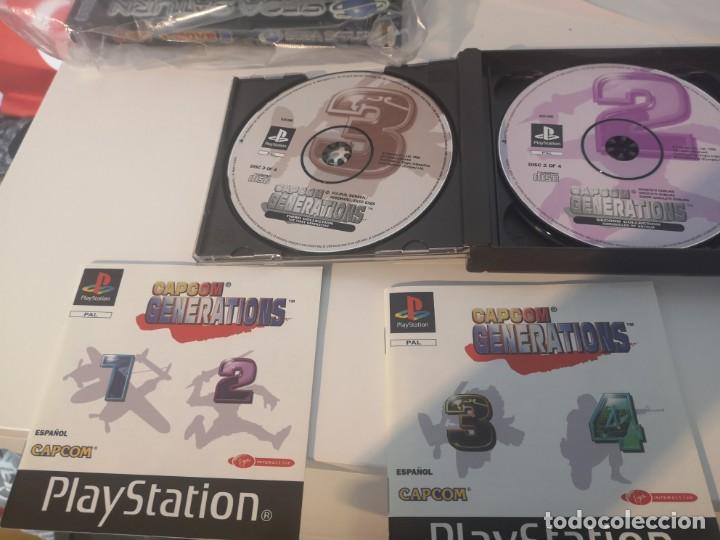 Videojuegos y Consolas: Capcom generations playstation psx play 1 - Foto 7 - 155824102