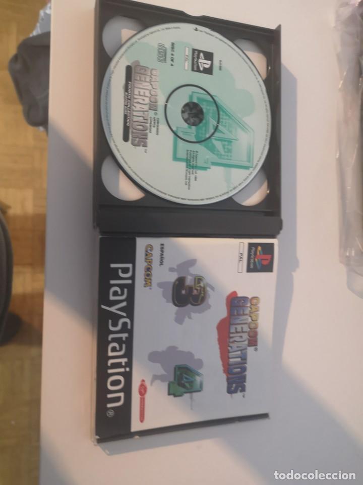Videojuegos y Consolas: Capcom generations playstation psx play 1 - Foto 9 - 155824102
