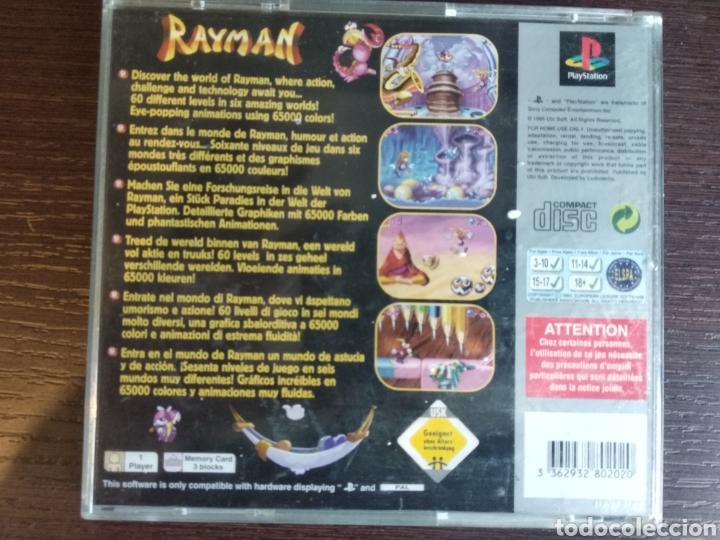 Videojuegos y Consolas: Rayman Playstation, PSX, PS1. - Foto 3 - 157976453