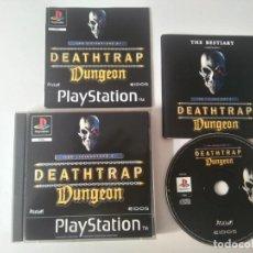 Videojuegos y Consolas: DEATHTRAP DUNGEON PARA PS1 PS2 Y PS3!!!!. Lote 158227206