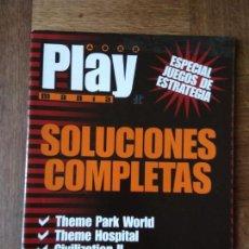 Videojuegos y Consolas: PLAY PSX GUIAS JUEGOS DE ESTRATEGIA: WORMS, COMMAND & CONQUER, CIVILIZATION, THEME HOSPITAL PARK WOR. Lote 158506362