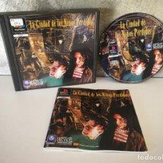Videojuegos y Consolas: LA CIUDAD DE LOS NIÑOS PERDIDOS PS1 COMPLETO. Lote 158673970