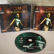 Videojuegos y Consolas: TOMB RAIDER PS1 COMPLETO Y EN CAJA GRANDE PRIMERA EDICION. Lote 158679638