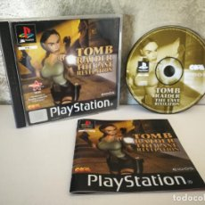 Videojuegos y Consolas: TOMB RAIDER THE LAST REVELATION PS1 COMPLETO. Lote 158681966