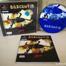 Videojuegos y Consolas: DESCENT 2 PS1 COMPLETO. Lote 158682434