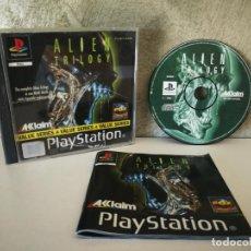 Videojuegos y Consolas: ALIEN TRILOGY PS1 COMPLETO . Lote 158685094
