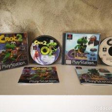 Videojuegos y Consolas: CROC Y CROC 2 PS1 COMPLETOS. Lote 158685318