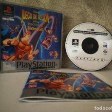 Videojuegos y Consolas: HERCULES DISNEY PS1 COMPLETO. Lote 163735114