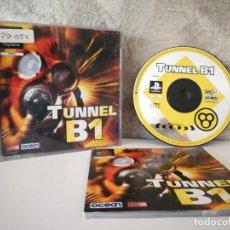 Videojuegos y Consolas: TUNNEL B1 PS1 COMPLETO. Lote 158794366