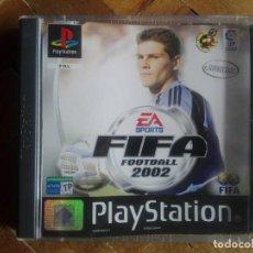Videojuegos y Consolas: JUEGO PS1 FIFA 2002. Lote 158808774