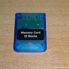Videojuegos y Consolas: MEMORY CARD PSX PLAY STATION 1 TARJETA DE MEMORIA. Lote 158903570