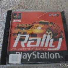 Videojuegos y Consolas: RALLY CHAMPIONSHIP PLAYSTATION PSX PS1 EDICIÓN ESPAÑOLA. Lote 158917286