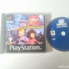 Videojuegos y Consolas: 40 WINKS PARA PS1 PS2 Y PS3!!!! . Lote 159236826