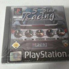 Videojuegos y Consolas: 5 STAR RACING 5 JUEGOS PARA PS1 PS2 Y PS3!!!! PRECINTADO!!!! NUEVO A ESTRENAR!!!!! COLECCIONISTAS!!. Lote 195183815