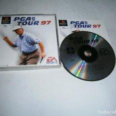 Videojuegos y Consolas: PGA TOUR 97 PLAYSTATION PAL ESPAÑA COMPLETO . Lote 159624002