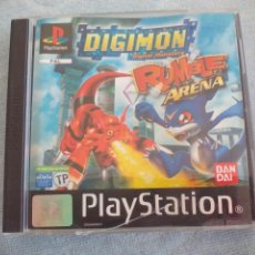 Videojuegos y Consolas: DIGIMON. RUMBLE ARENA. DIGITAL MONSTERS. . JUEGO PARA PLAYSTATION . PLAY STATION. Lote 159802462