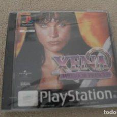 Videojuegos y Consolas: XENA WARRIOR PRINCESS PRECINTADO PLAYSTATION PSX PS1 EDICIÓN ESPAÑOLA XENA LA PRINCESA GUERRERA. Lote 159894094
