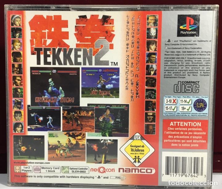 Videojuegos y Consolas: PLAYSTATION TEKKEN 2 - Foto 2 - 160350241