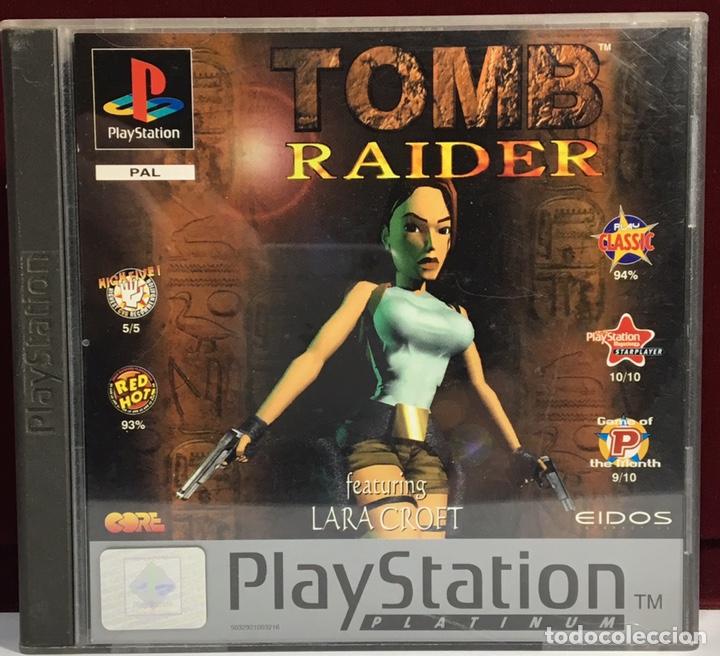 PLAYSTATION TOMB RAIDER (Juguetes - Videojuegos y Consolas - Sony - PS1)