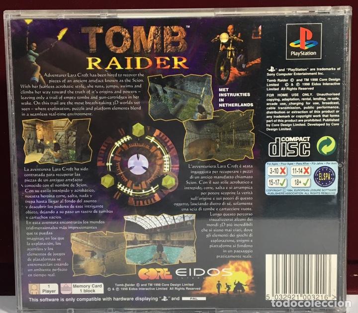 Videojuegos y Consolas: PLAYSTATION TOMB RAIDER - Foto 2 - 160350388