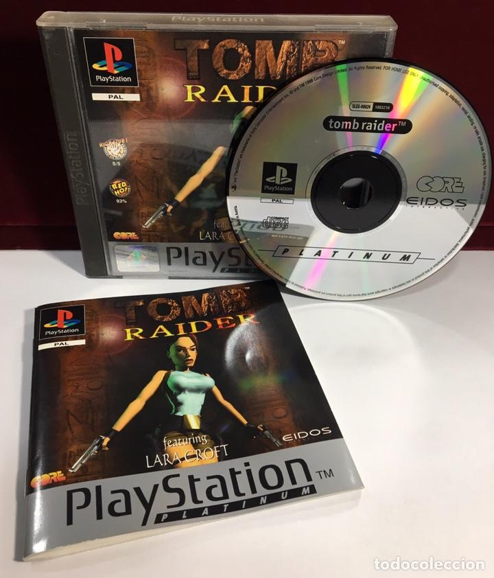 Videojuegos y Consolas: PLAYSTATION TOMB RAIDER - Foto 3 - 160350388